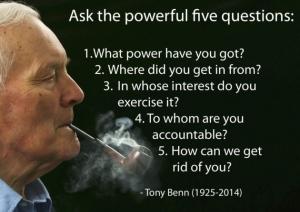 Tony Benn Europe